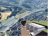 プレキャストセグメント工法による開削トンネル