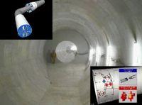 ハイブリッド式親子シールドにより雨水貯留トンネルを築造