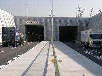 供用開始後の夢咲トンネル(夢洲側坑口)