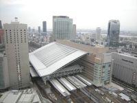 工事が完了し、グランドオープンを迎えたOSAKA STATION CITY