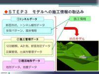 構築したCIMシステムの概要(見草トンネル)