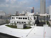 神戸の景観に配慮した京橋ポンプ場の外観デザイン