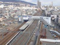 開業前(工事中)の摩耶新駅
