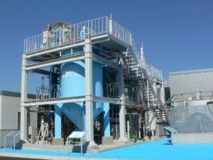 下水汚泥からリンを直接回収、資源化する装置