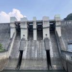 日吉ダムの見学